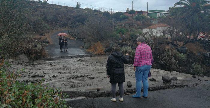 """Las Manchas y El Remo, dos barrios """"bloqueados"""" por la lluvia"""