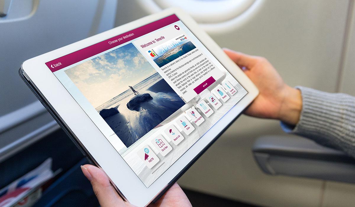 Los pasajeros podrán consultar todos los contenidos del municipio a través de tabletas y teléfonos móviles. DA