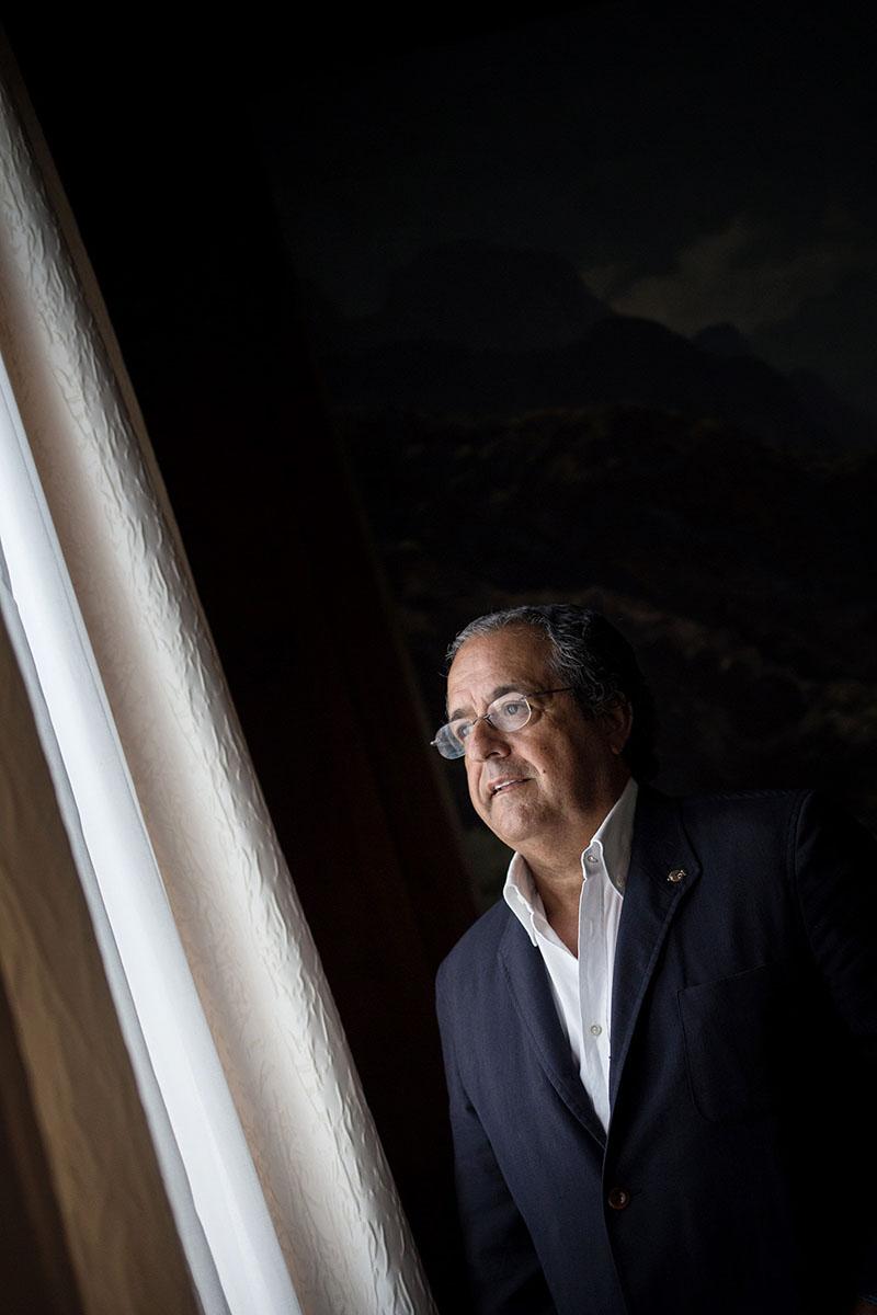 Antonio Alarcó, portavoz municipal del PP en La Laguna. Andrés Gutiérrez