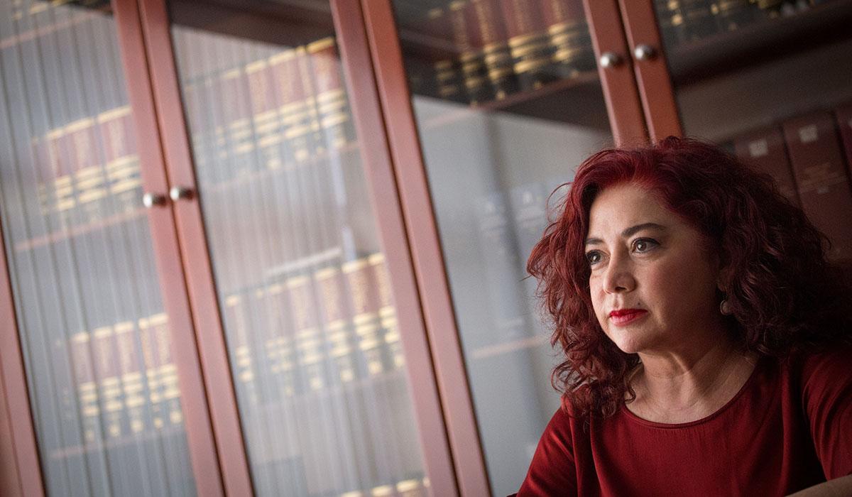Beatriz Barrera, presidenta de la Zona Especial Canaria (ZEC). Andrés Gutiérrez