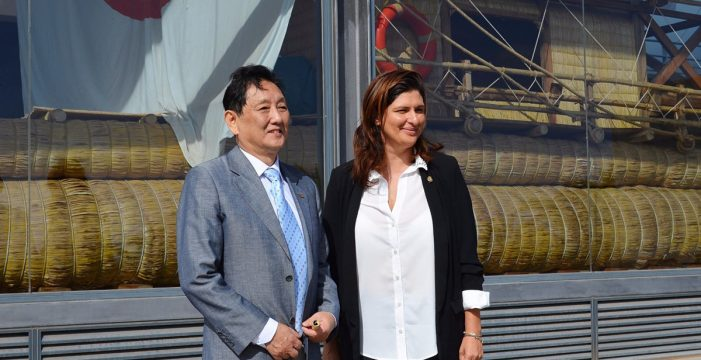 """Marco Wang considera que """"la inversión en desalación es barata y muy rentable"""""""