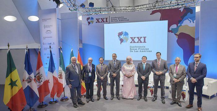 Más de 400 zonas francas, empresas y delegaciones ministeriales de 8 países