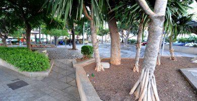 Los parques y jardines de La Salud serán remodelados. DA