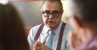 José Carlos Francisco, presidente de la CEOE-Tenerife. Sergio Méndez