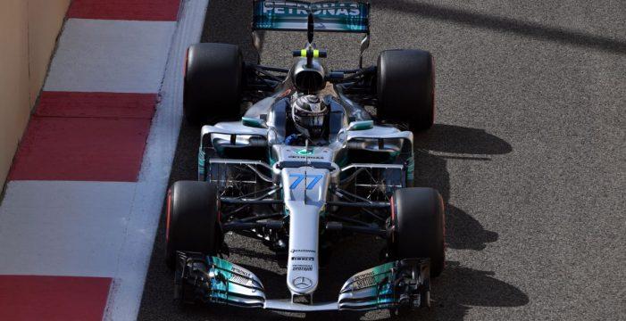 Victoria del finlandés Valtteri Bottas en la última cita de la Fórmula 1