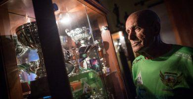 Justo Cerpa, 77 años y subcampeón de Europa a base de potaje y gofio