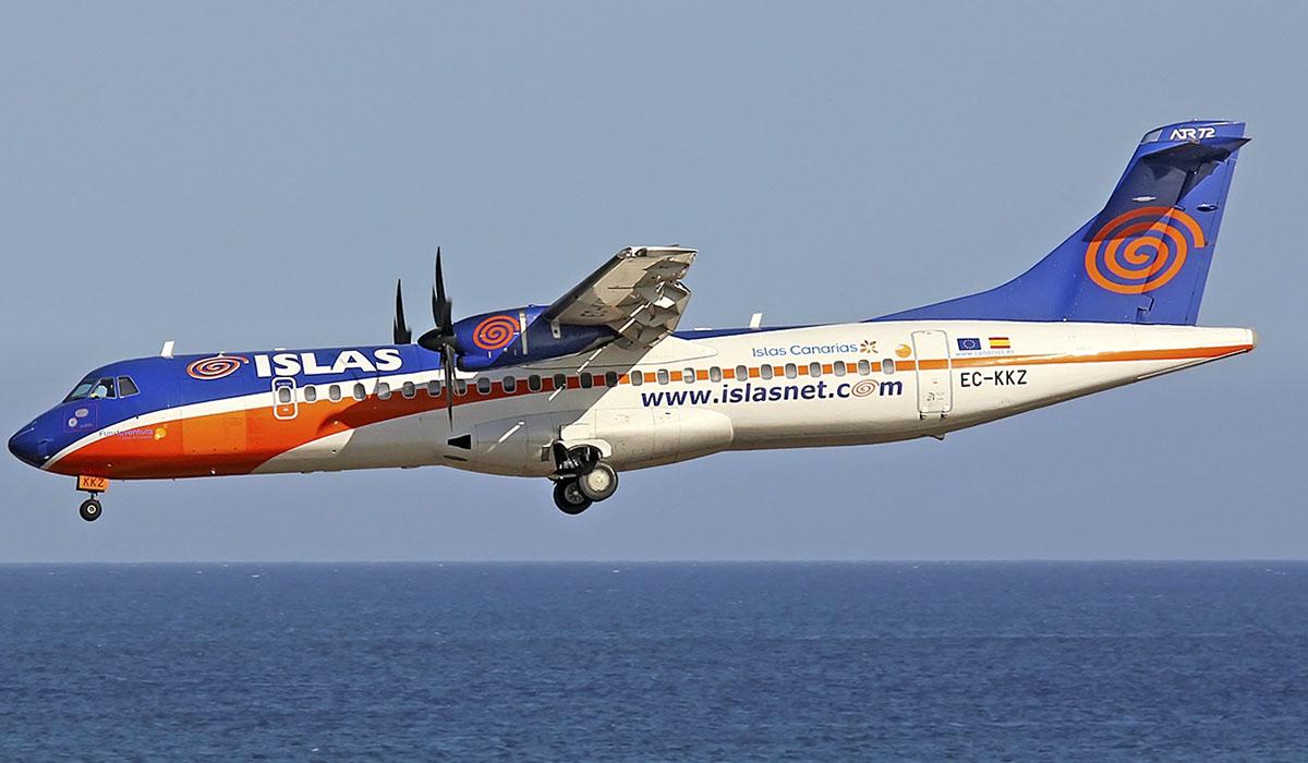 La aerolínea de Miguel Concepción dejó de volar un año después de iniciarse el procedimiento por el que ahora se le acusa. Lanzarote Spotter
