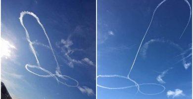 Piden explicaciones a la Armada ante la aparición de un pene enorme en el cielo