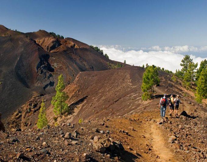 Cierran la red insular de senderos de La Palma por el riesgo de incendios