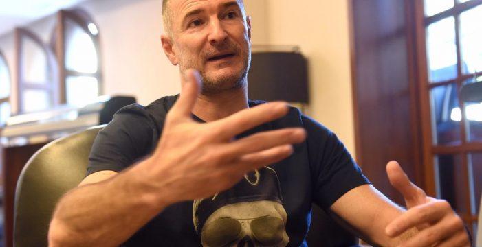 """Nenad Markovic: """"El mundo se ha vuelto loco porque nacionalistas y fascistas gritan más que los que queremos vivir en paz"""""""