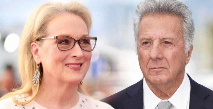 Meryl Streep acusó a Dustin Hoffman en 1979 de manosearla