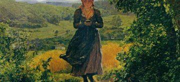 ¿Un iPhone en una pintura de hace 150 años?