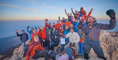 El colectivo de montañeros se suma a la campaña #YosoyTenerife