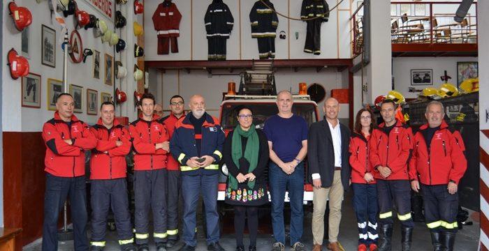Los Bomberos Voluntarios se integrarán en el Consorcio de Servicios en 2018