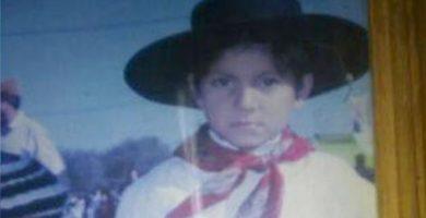 'Marito', el niño asesinado en 2016 en Argentina. CLARÍN