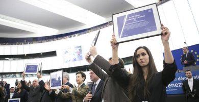 La tinerfeña Andrea González, presa política en Venezuela, Premio Sájarov