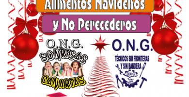 Recogida de alimentos y juguetes para la ONG Sonrisas Canarias
