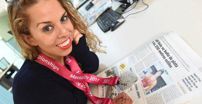 Judit Rolo, medalla de bronce en 200 libres del Europeo