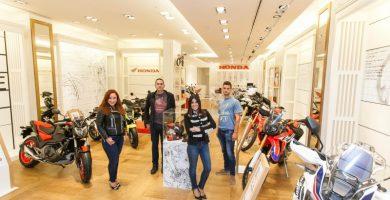 Honda Canarias inaugura su Honda POP-UP Store en el Centro Comercial y de Ocio Siete Palmas
