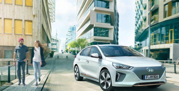 Hyundai IONIQ, el vehículo eléctrico más vendido en Canarias
