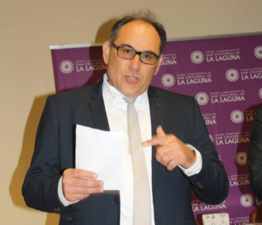 Jorge García Hernández, presidente en Canarias de la Sociedad Española de Estudios Clásicos. | DA