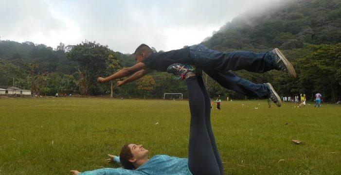 La aventura solidaria de una tinerfeña en Chinchontepec