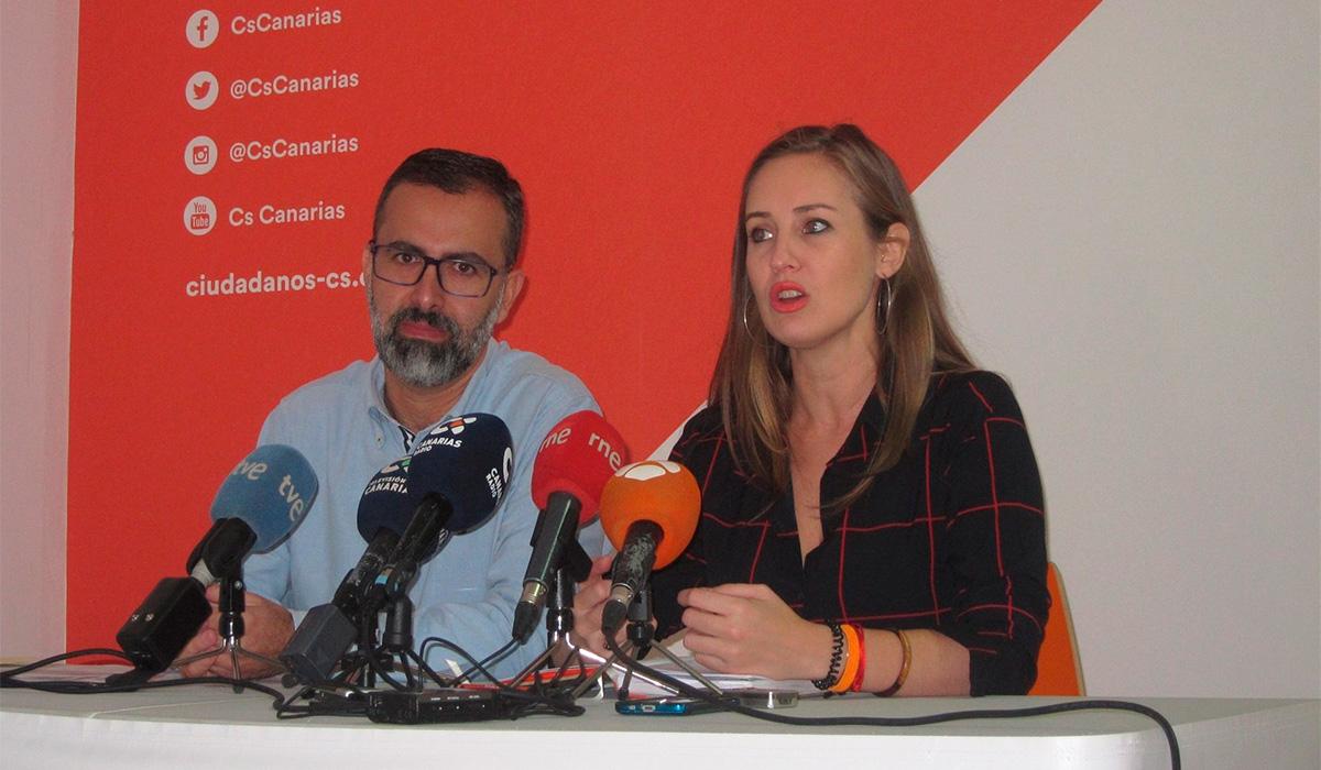 Mariano Cejas y Melisa Rodríguez