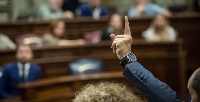 Aplazado el pleno para renovar los órganos del Parlamento de Canarias