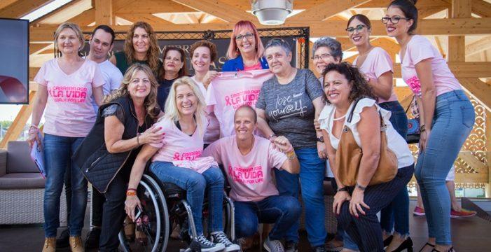Una marea rosa contra el cáncer de mama recorrerá Adeje y Arona
