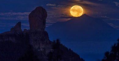 La espectacular foto de la última 'superluna' de 2017
