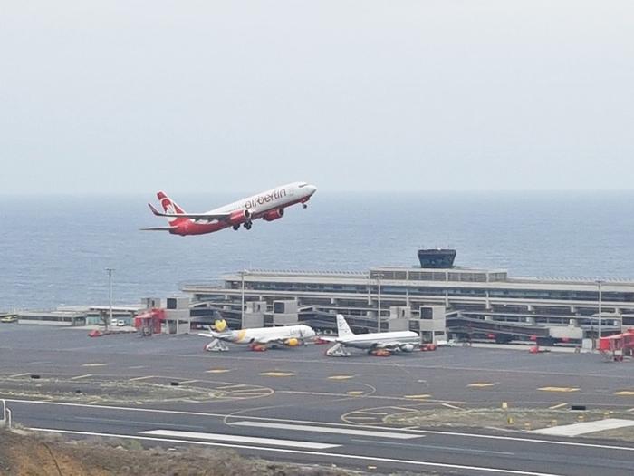 Imagen aeropuerto de La Palma. | DA