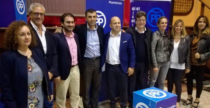 Antonio Hernández, reelegido presidente del PP en La Guancha