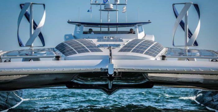 El primer barco del mundo impulsado por hidrógeno y energías renovables  hará escala en Tenerife en 2018
