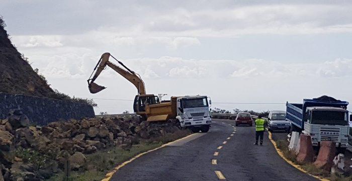 Las expropiaciones condicionan el ritmo de ejecución de la carretera de Fuencaliente