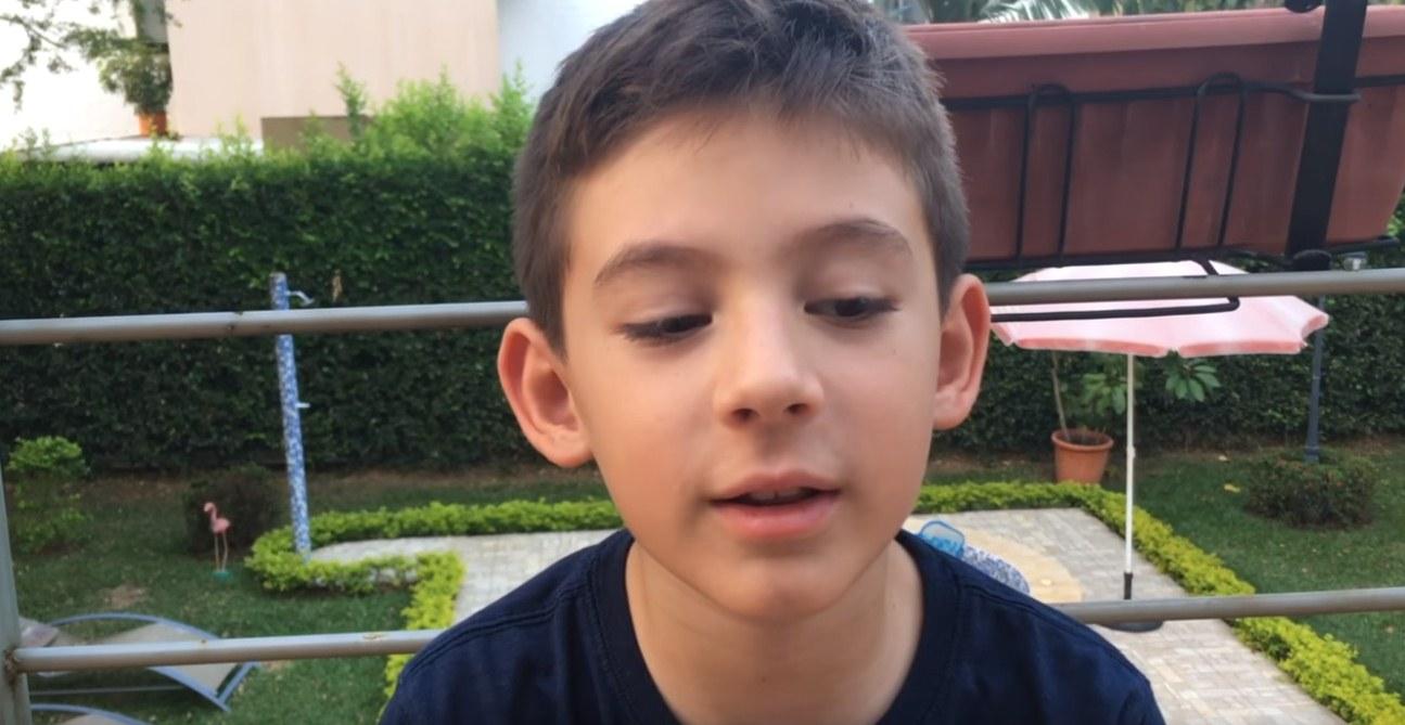 Imagen del vídeo grabado por Federico. / YOUTUBE