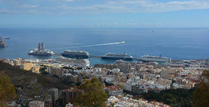 El puerto de Santa Cruz acogerá 13.000 cruceristas hasta el domingo