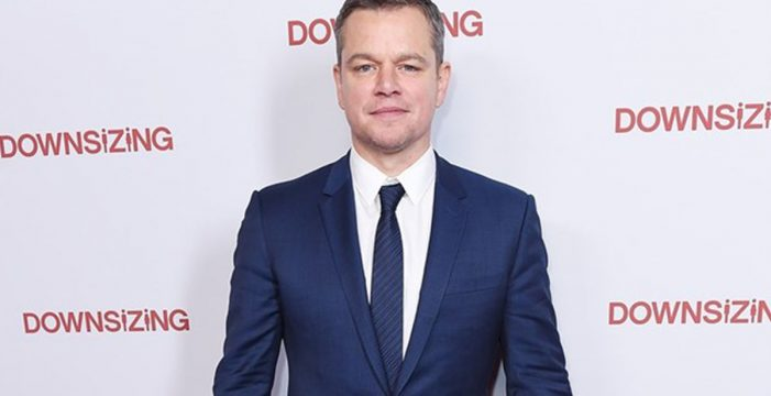 """Matt Damon, en el ojo del huracán: """"No es lo mismo dar una palmadita en el trasero que violar a un niño"""""""