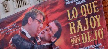 'Lo que Rajoy nos dejó': viral campaña de Greenpeace en Gran Vía para protestar por la política energética