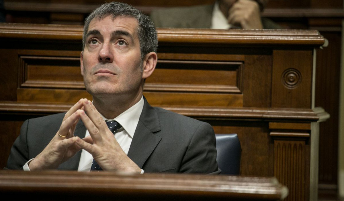 El exalcalde de La Laguna y hoy presidente del Gobierno canario, Fernando Clavijo. Andrés Gutiérrez