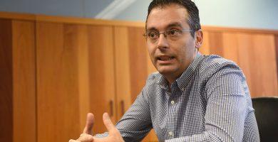 Carlos Tarife (PP), concejal delegado de Urbanismo de Santa Cruz. Sergio Méndez