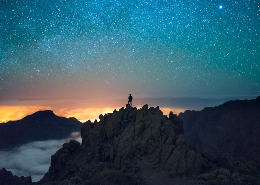 Pico de la Cruz, cerca del Mirador de Los Andenes, en La Palma | FOTO: Abián San Gil