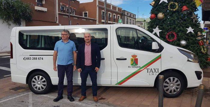 El Tanque vuelve a tener un taxi después de muchos años