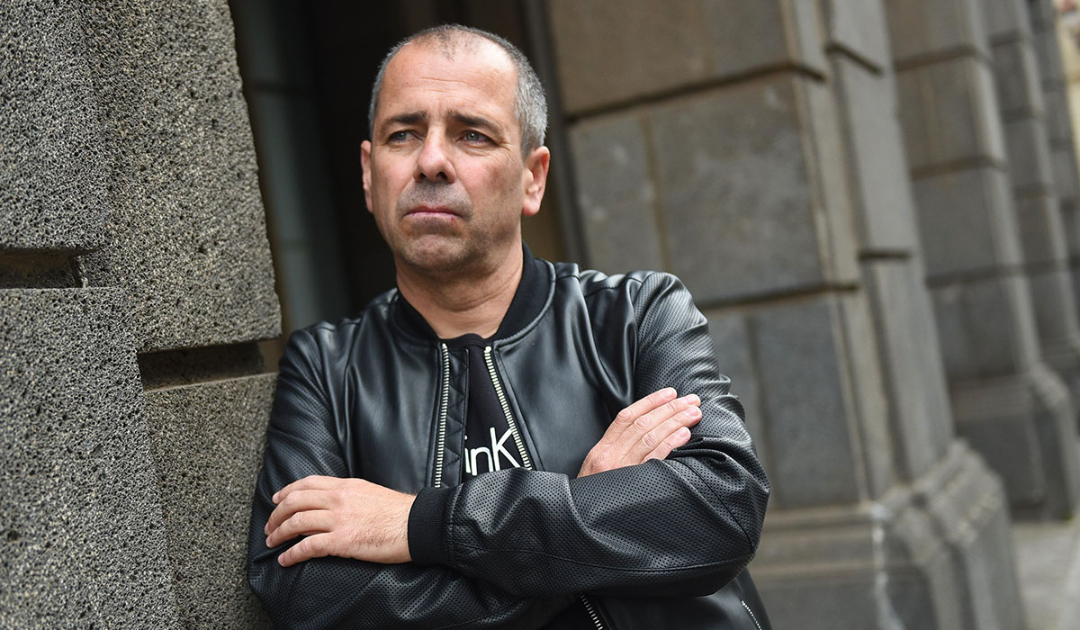 Francisco Ramos, trabajador de las grúas de la Laguna. Sergio Méndez