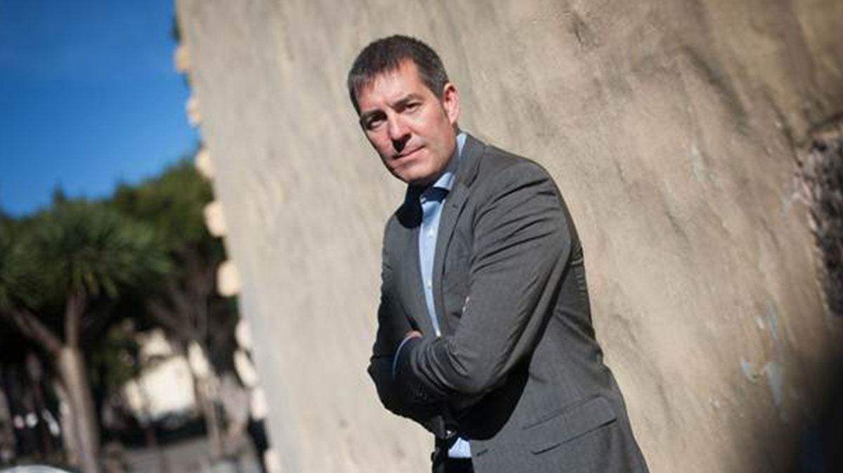 El exalcalde y presidente regional, Fernando Clavijo. Fran Pallero