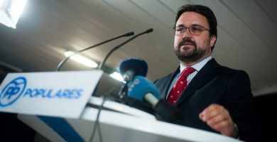 El Presidente del Partido Popular de Canarias, Asier Antona. | Fran Pallero