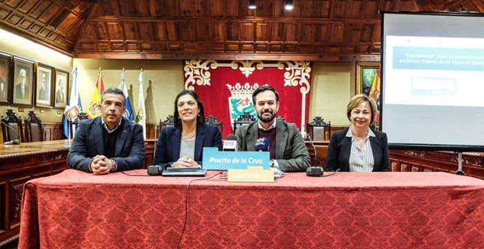 Puerto de la Cruz pone en marcha el primer sistema de inteligencia turística