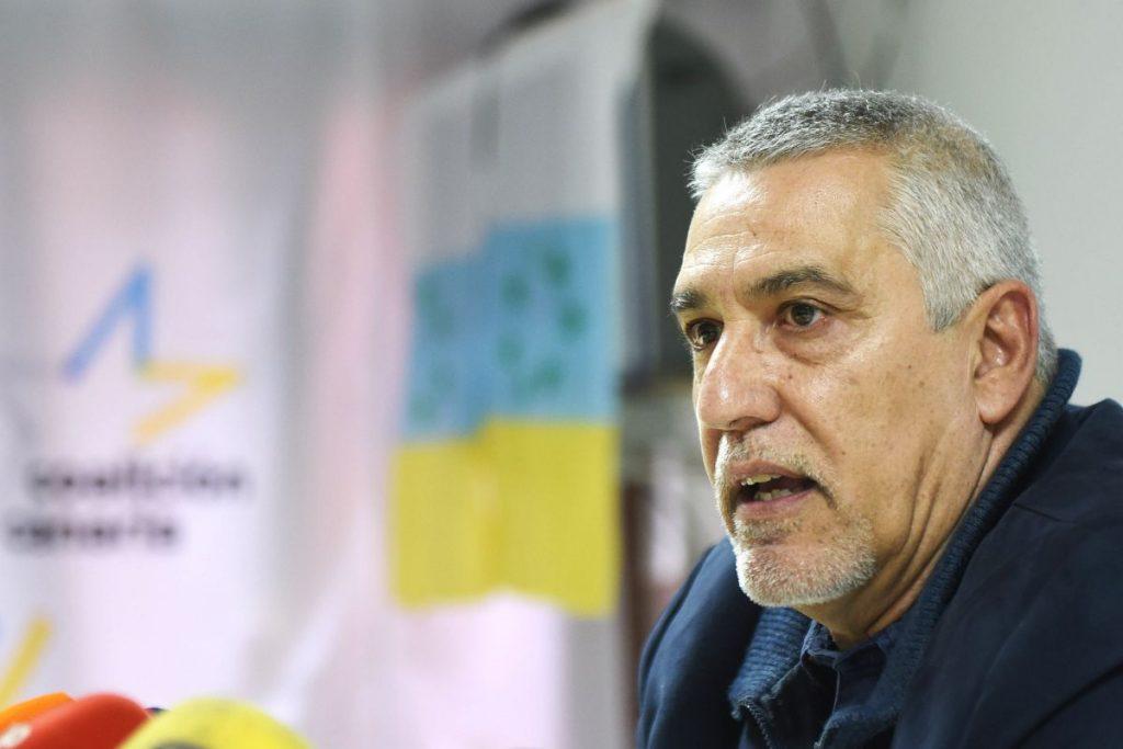El representante de la Ejecutiva local de CC en la Ciudad de Los Adelantados, Juan Manuel Castañeda. Sergio Méndez