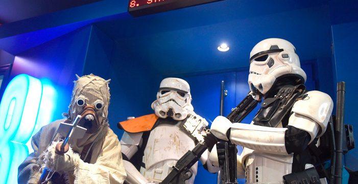 """""""De los personajes de 'Star Wars' no se va disfrazado, se va vestido"""""""