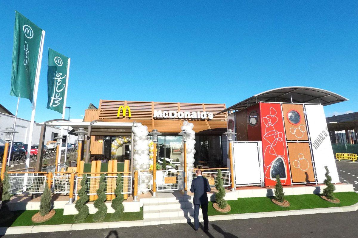 Mcdonald 39 s inaugura un local en taco - Mcdonald s puerto de la cruz ...