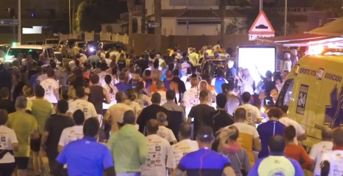 La Carrera Nocturna de La Caleta se une a 'Moving the planet'
